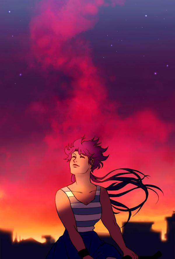 Sunset Promenade by Shi-Yin