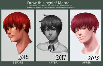 Draw This Again 2015-2018 by Shi-Yin
