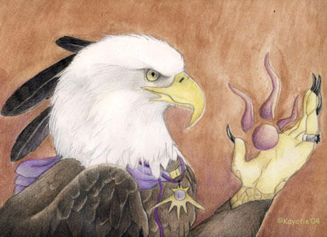 Eagle by Kayotie
