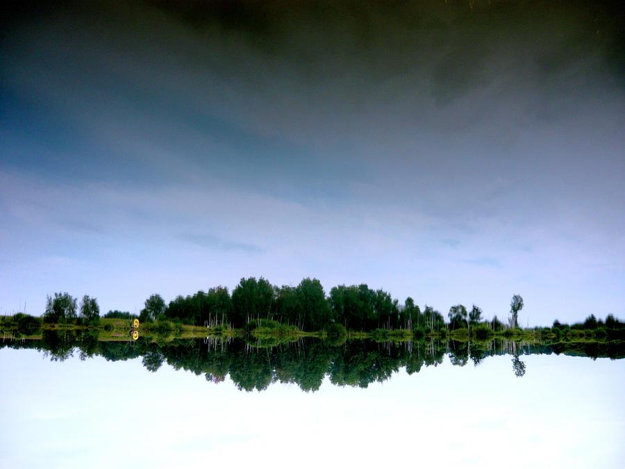 La reflexion by LaRoseDePetitPrince