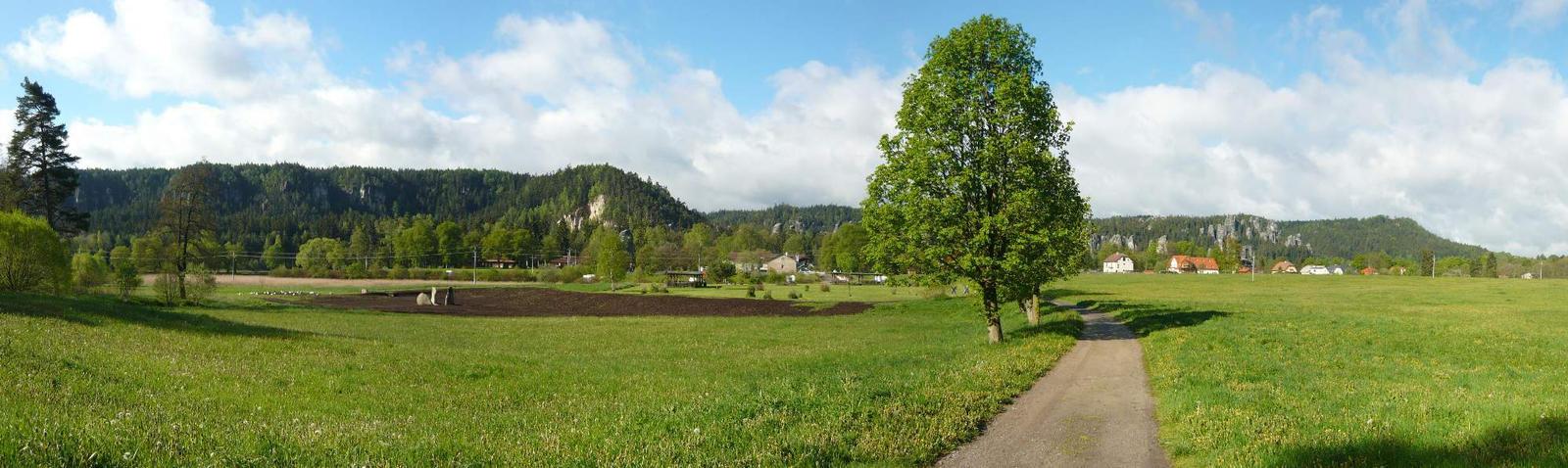 Adrspach panorama by LaRoseDePetitPrince