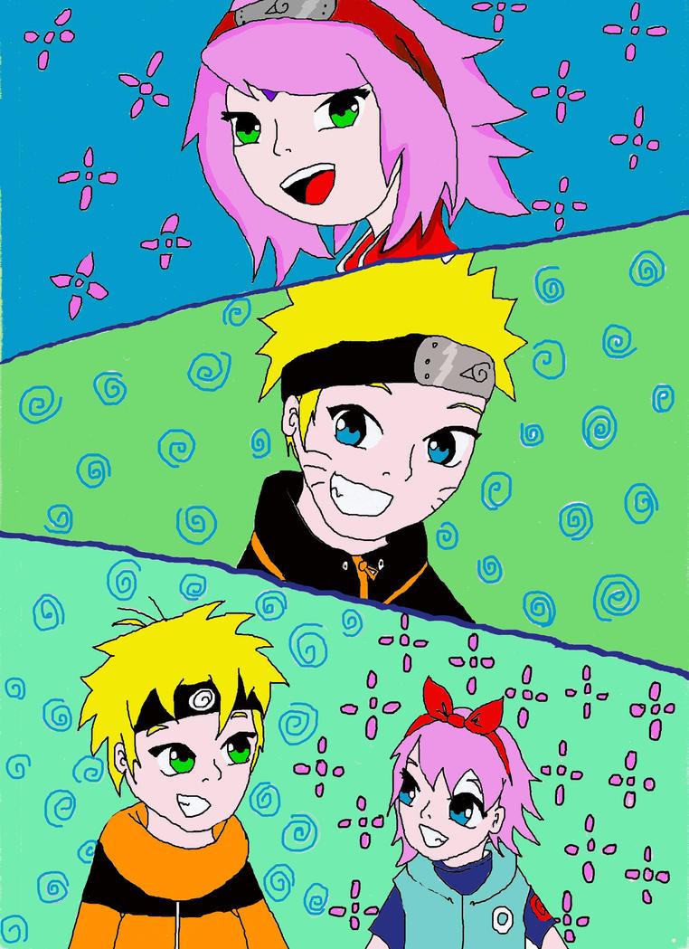 Uzumaki Family by Miyumi15