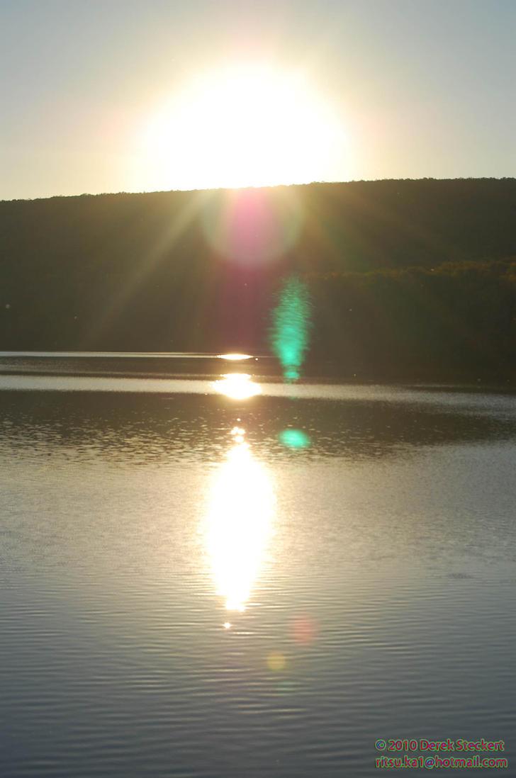 Locust lake sunset by Hero-Ritsuka