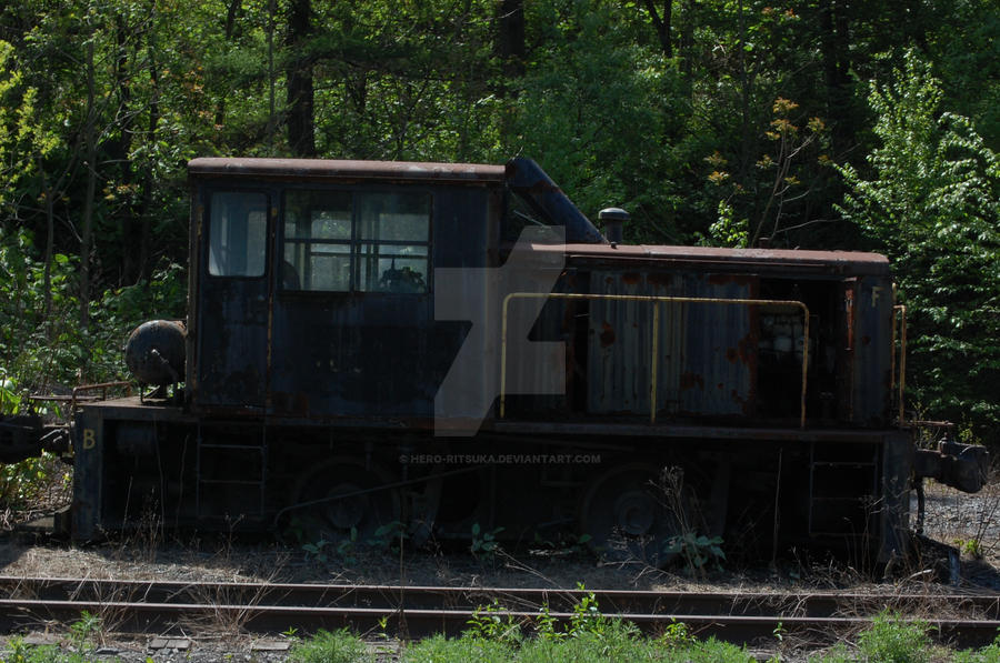 Philly electric company train lost in time by Hero-Ritsuka