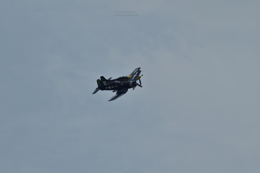 P51 Never Miss F4U Corsair 3 by Hero-Ritsuka