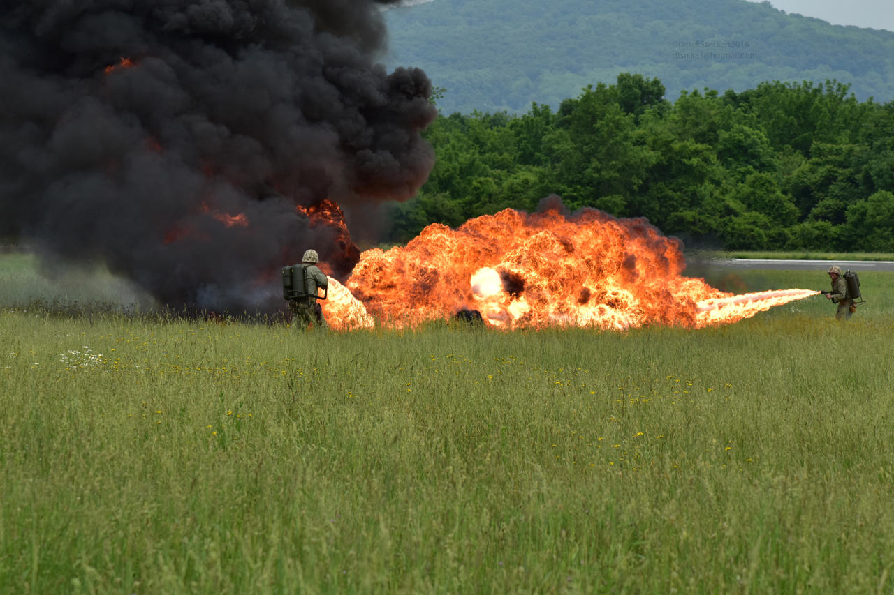WWII Flamethrower Demo by Hero-Ritsuka