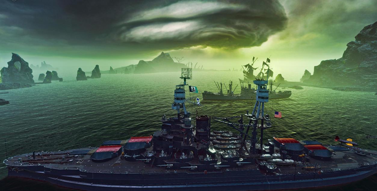 USS Arizona (1 of 1) by Hero-Ritsuka