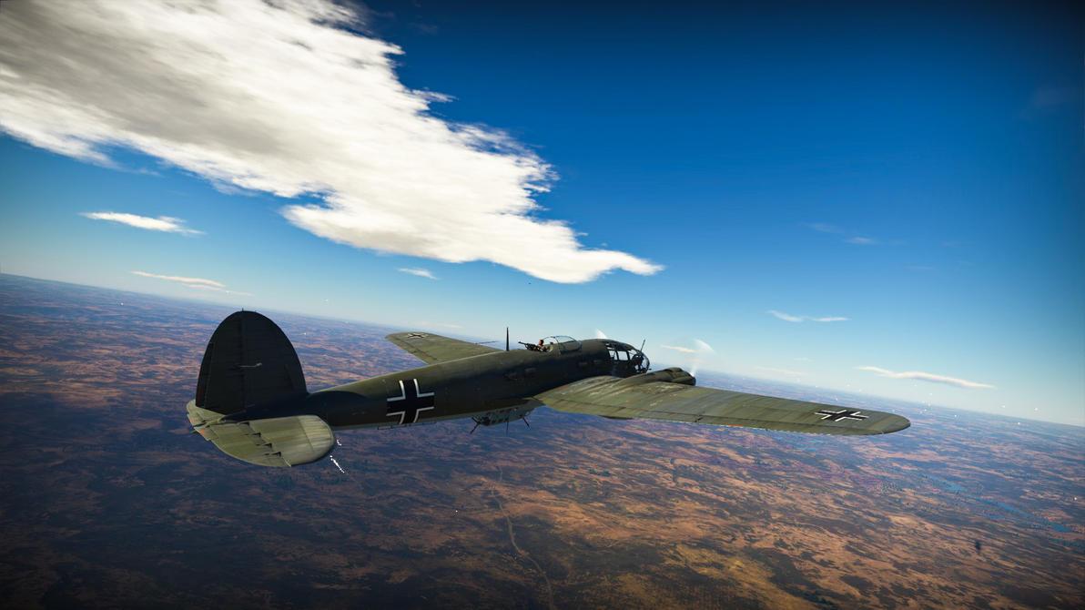 HE 111-H3 Bomber by Hero-Ritsuka