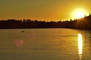 Rowing away from the sun by Hero-Ritsuka