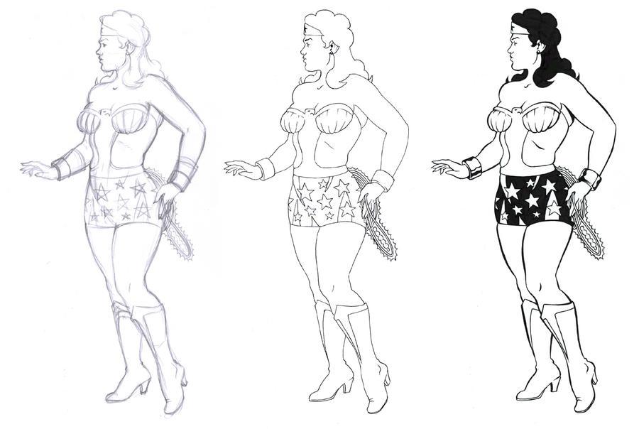 Wonder Woman by Bienvenu