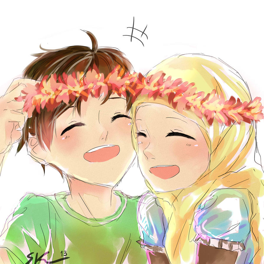 Those Happy Times Kiraruun On Deviantart Jpg 894x894 Family Cartoon Muslimah Anime Pictures