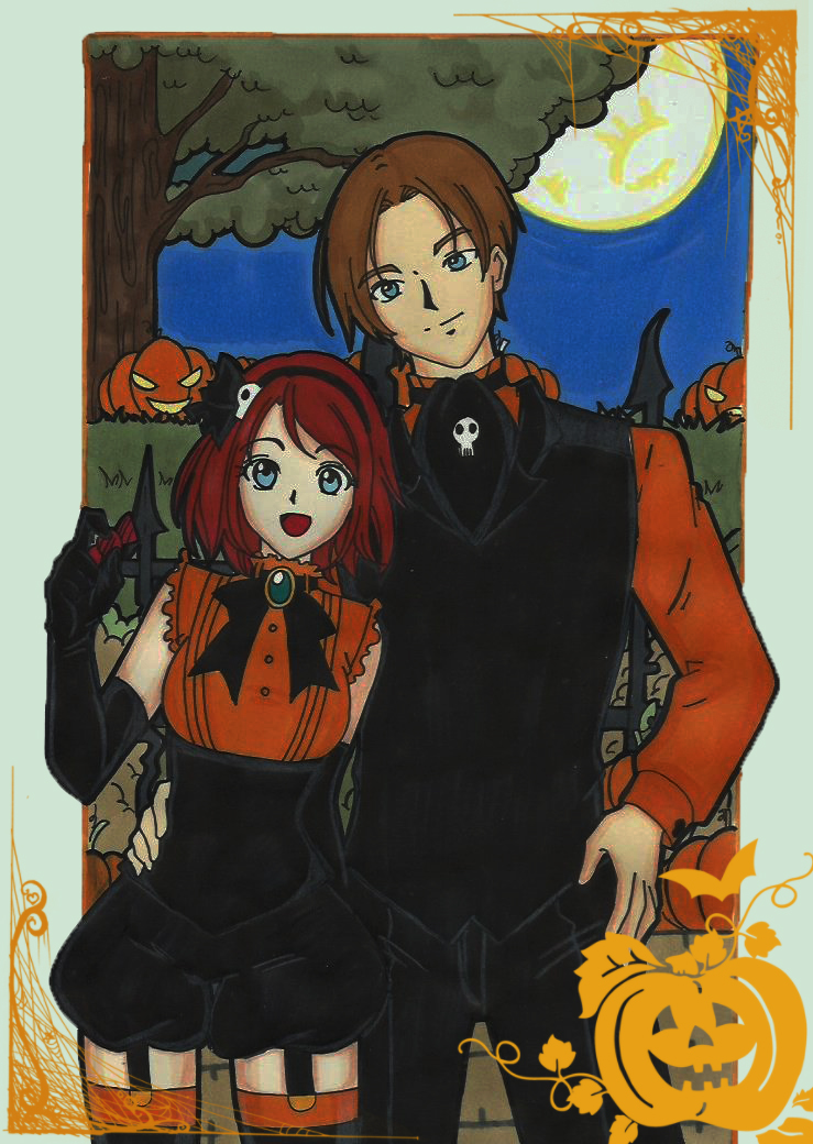 Happy Halloween Cleons by LeonandClaireBSAA