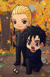 Shadowhunters : Alec and Jace movil destruction by LeonandClaireBSAA