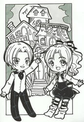 Special Cleon Inktober day 14 by LeonandClaireBSAA