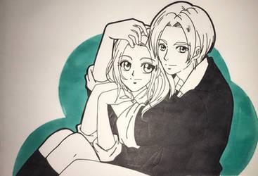 Cleon pose manga shojo by LeonandClaireBSAA