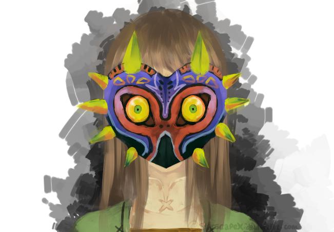 [Kinda self portrait] Zelda fan by xStarscapex