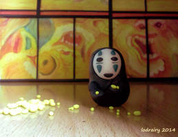 No-face: Who wants my gold ? by Lodrairy
