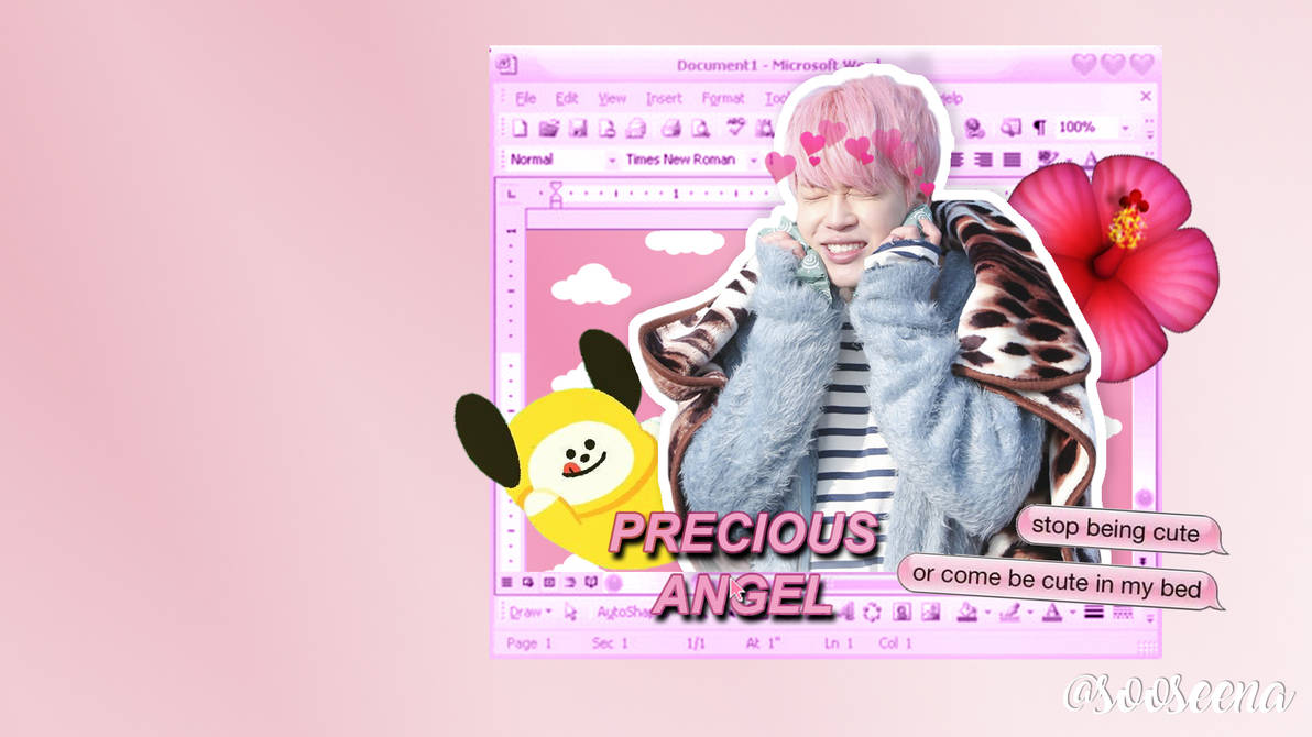 jimin bts desktop wallpaper by sooseena dbv4lbn
