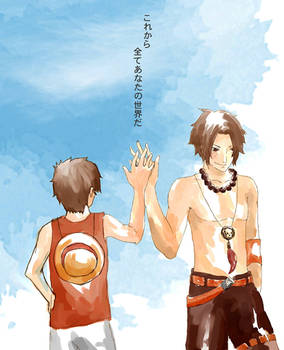 Asce and Luffy