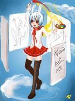 DrawAnime Mascot Entry by cyrusHisa