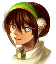 Avatar - Toph by cyrusHisa