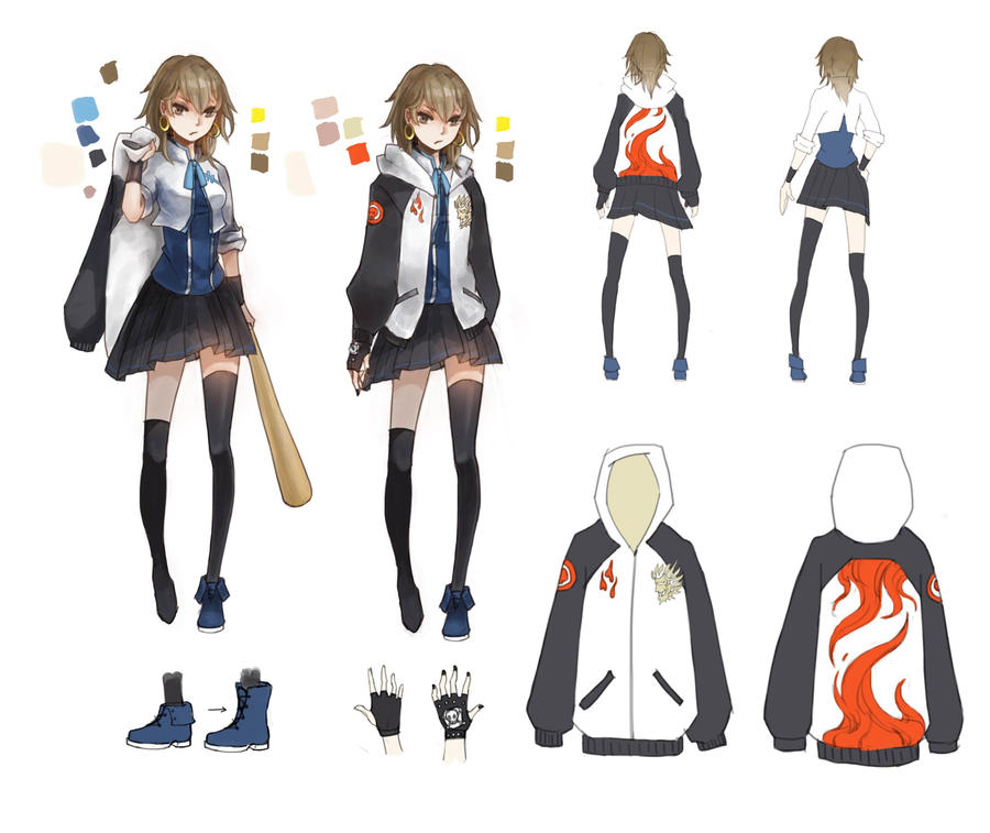 How To Character Design Anime : Character design bww shiina akira by cyrushisa on deviantart