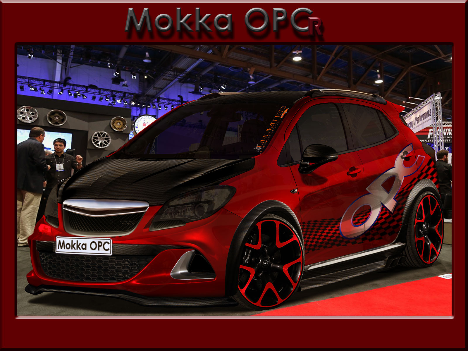 opel mokka opc r by unlimited concept on deviantart. Black Bedroom Furniture Sets. Home Design Ideas