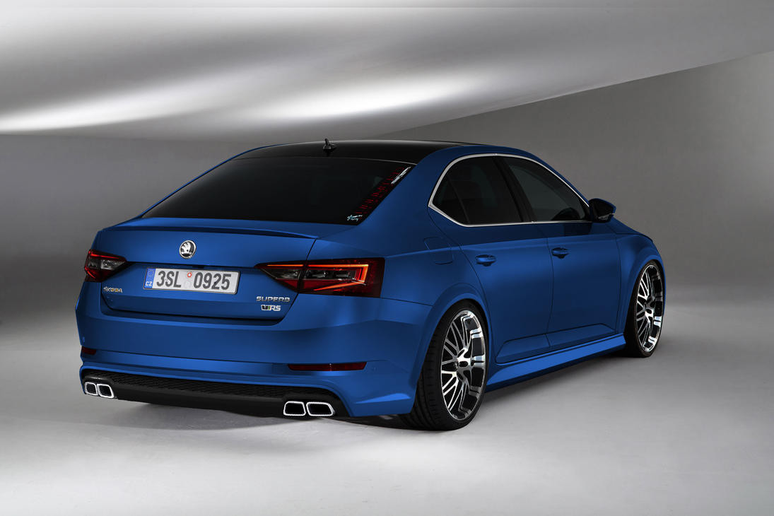 skoda superb rs by unlimited concept on deviantart. Black Bedroom Furniture Sets. Home Design Ideas