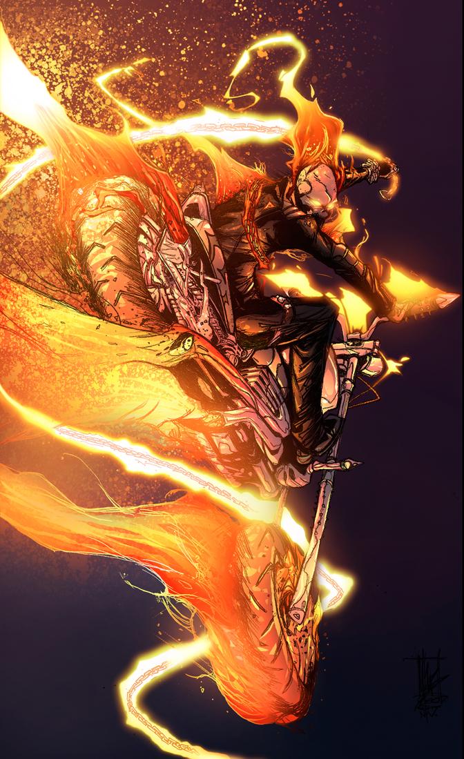 Ghost Rider by zaratus