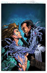 Witchblade and Punisher