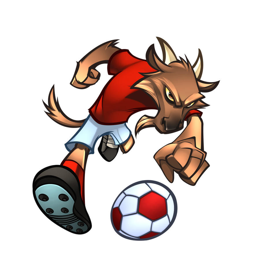FC KOLN FOOTBALL MASCOT by zaratus