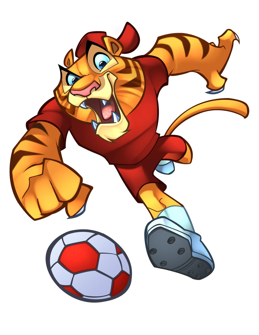 FCN  FOOTBALL MASCOT by zaratus