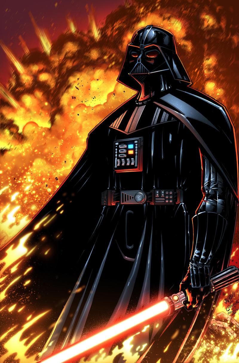 Darth Vader by zaratus
