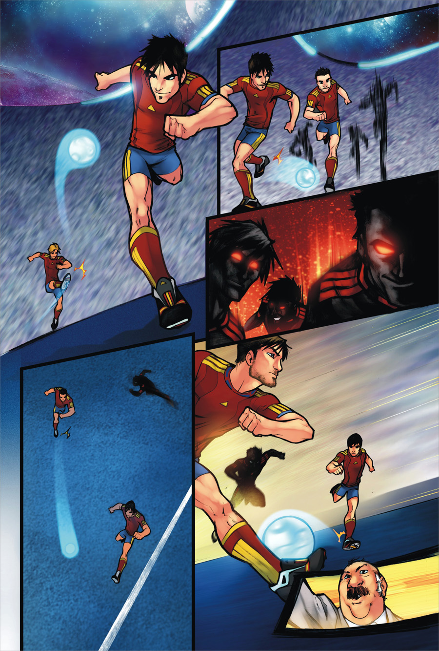 Spanish Football Book page 37 by zaratus