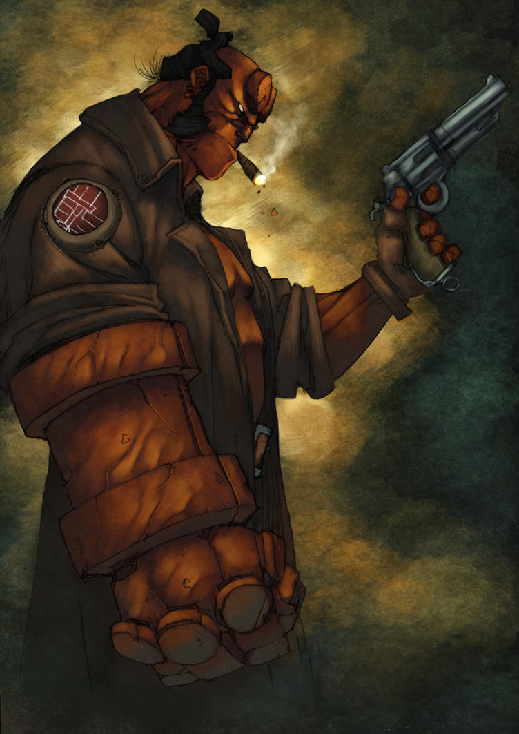 Smokey Hellboy by zaratus
