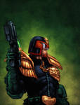 Judge Dredd by zaratus