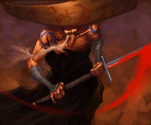 Mariach Samurai by zaratus