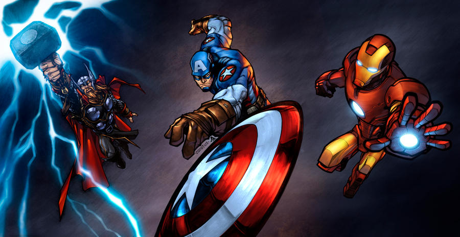 The Avengers by zaratus