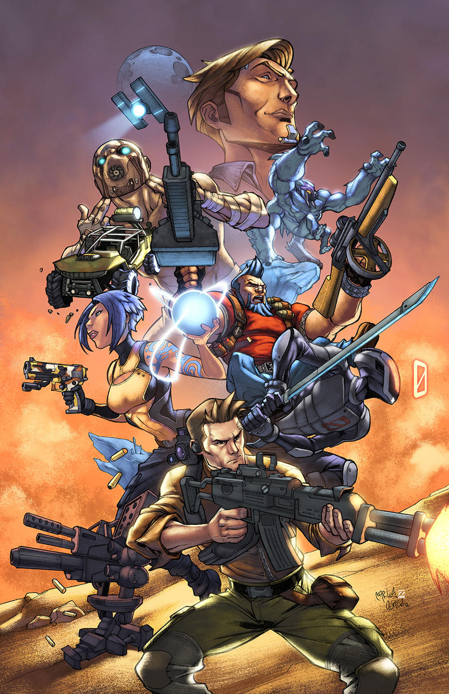 Borderlands 2 by zaratus