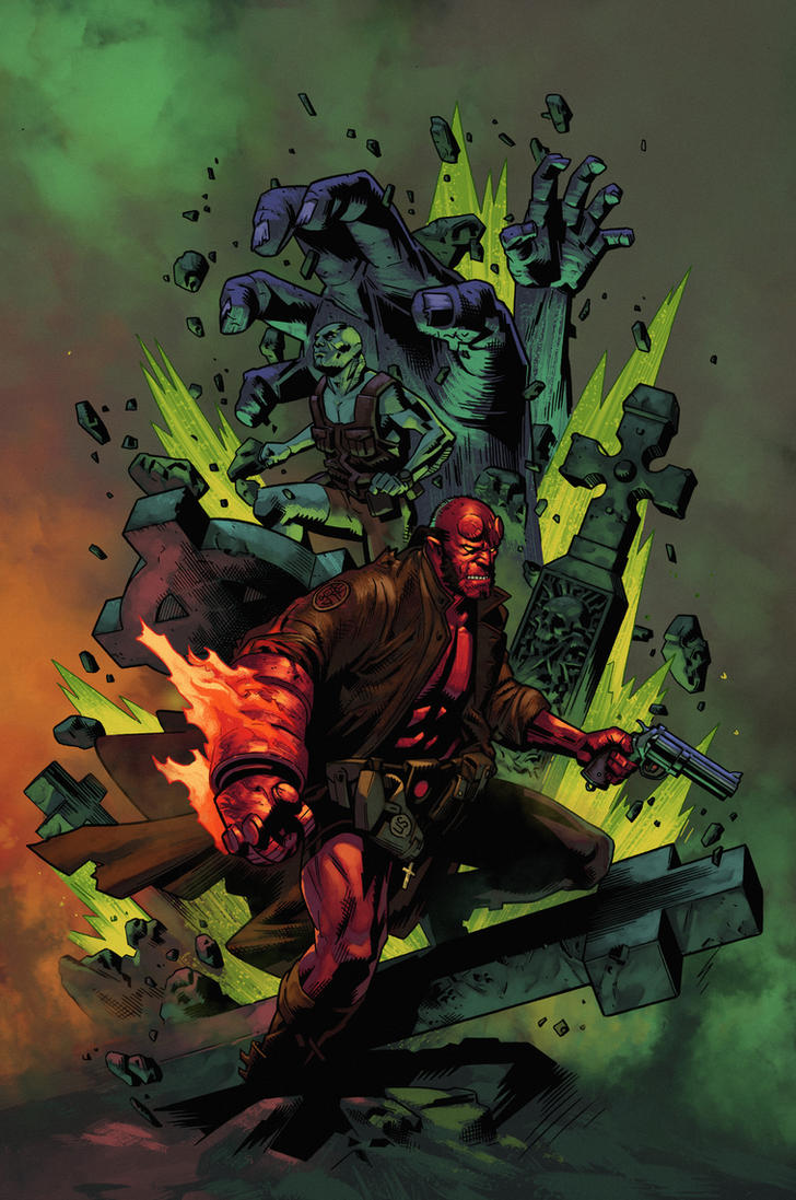 Hellboy Underworld by zaratus