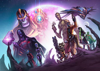 Guardians of the Galaxy by zaratus