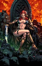 Red Sonja #17 by zaratus