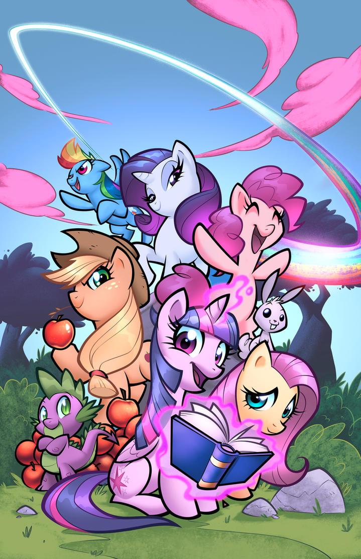 My little Pony cover by zaratus