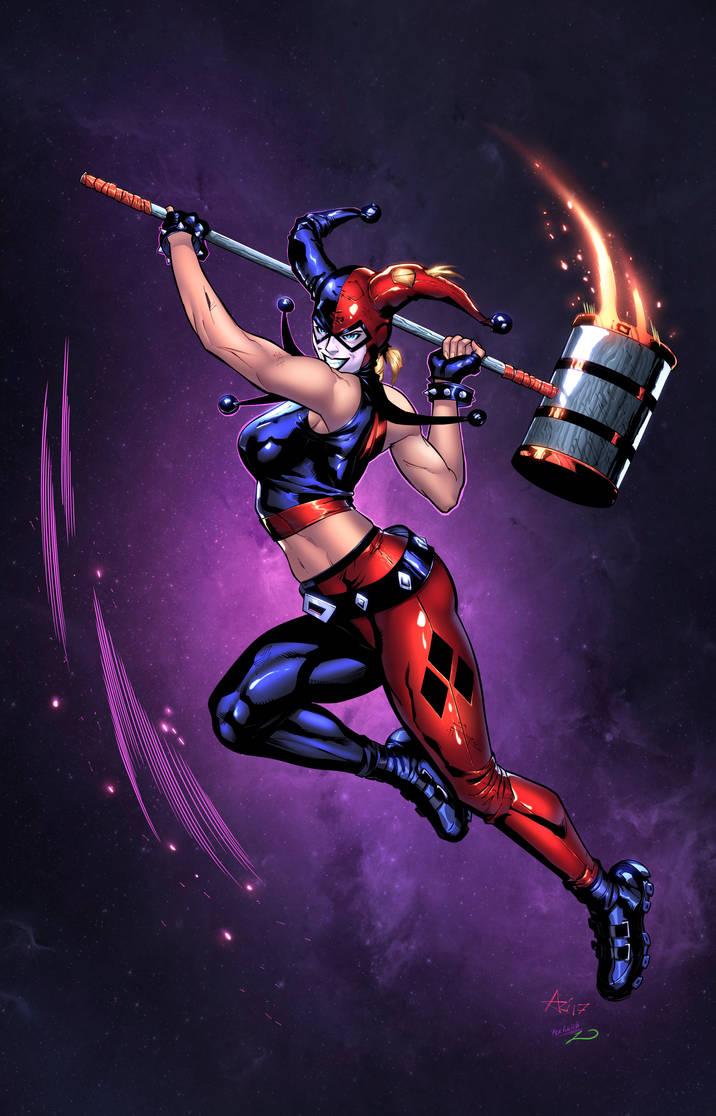 Harley Quinn by zaratus