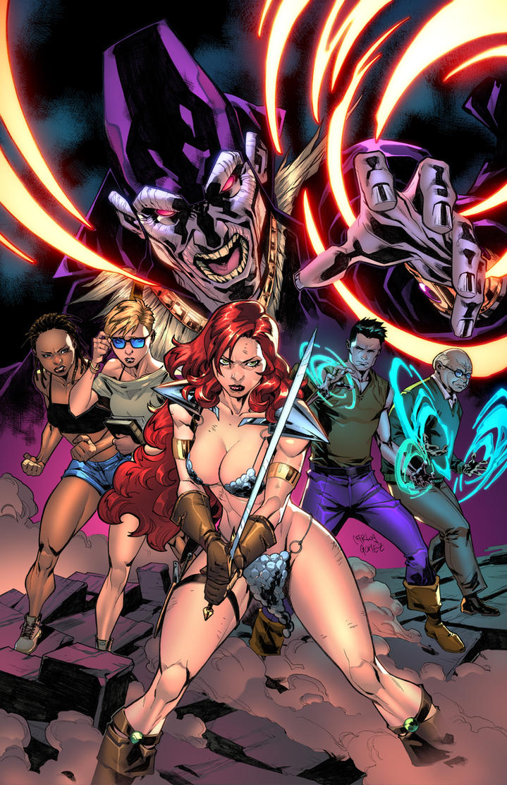 Red Sonja #15 by zaratus