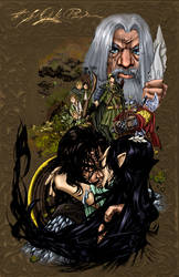 THE LORD OF THE RINGS by zaratus