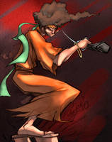 Afro Samurai by zaratus