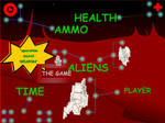Game screen concept