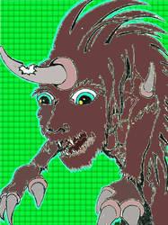 Unicorn Creature by bangerbishop