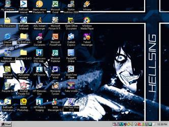 Hellsing desktop by DukeBUG